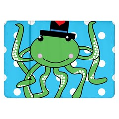 Octopus Sea Animal Ocean Marine Samsung Galaxy Tab 8 9  P7300 Flip Case