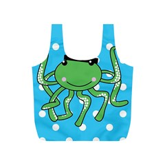 Octopus Sea Animal Ocean Marine Full Print Recycle Bags (s)