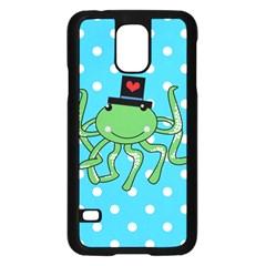 Octopus Sea Animal Ocean Marine Samsung Galaxy S5 Case (black)