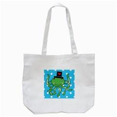 Octopus Sea Animal Ocean Marine Tote Bag (white) by Nexatart