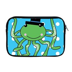 Octopus Sea Animal Ocean Marine Apple Macbook Pro 17  Zipper Case by Nexatart