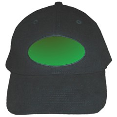 Course Colorful Pattern Abstract Green Black Cap