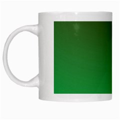 Course Colorful Pattern Abstract Green White Mugs by Nexatart