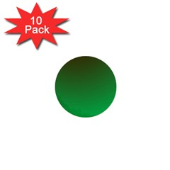 Course Colorful Pattern Abstract Green 1  Mini Buttons (10 Pack)