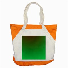 Course Colorful Pattern Abstract Green Accent Tote Bag