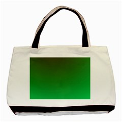 Course Colorful Pattern Abstract Green Basic Tote Bag (two Sides)