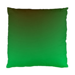 Course Colorful Pattern Abstract Green Standard Cushion Case (one Side)
