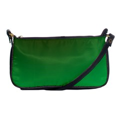 Course Colorful Pattern Abstract Green Shoulder Clutch Bags