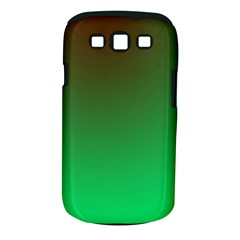Course Colorful Pattern Abstract Green Samsung Galaxy S Iii Classic Hardshell Case (pc+silicone)