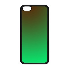 Course Colorful Pattern Abstract Green Apple Iphone 5c Seamless Case (black) by Nexatart