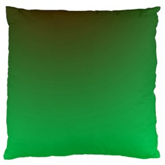 Course Colorful Pattern Abstract Green Standard Flano Cushion Case (two Sides) by Nexatart