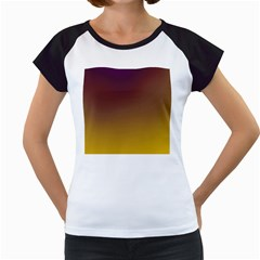 Course Colorful Pattern Abstract Women s Cap Sleeve T