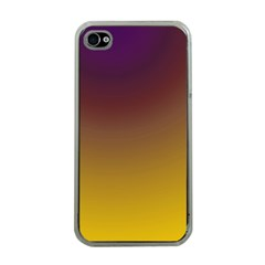 Course Colorful Pattern Abstract Apple Iphone 4 Case (clear)