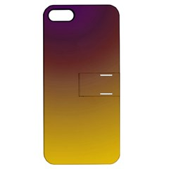 Course Colorful Pattern Abstract Apple Iphone 5 Hardshell Case With Stand by Nexatart