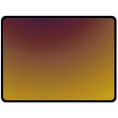 Course Colorful Pattern Abstract Double Sided Fleece Blanket (large)