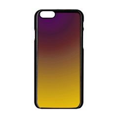 Course Colorful Pattern Abstract Apple Iphone 6/6s Black Enamel Case