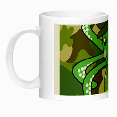 Octopus Army Ocean Marine Sea Night Luminous Mugs by Nexatart
