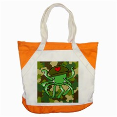 Octopus Army Ocean Marine Sea Accent Tote Bag