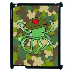 Octopus Army Ocean Marine Sea Apple Ipad 2 Case (black)