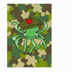 Octopus Army Ocean Marine Sea Large Garden Flag (two Sides)