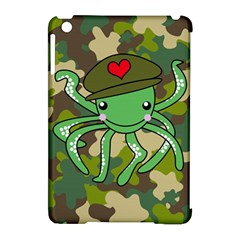 Octopus Army Ocean Marine Sea Apple Ipad Mini Hardshell Case (compatible With Smart Cover)