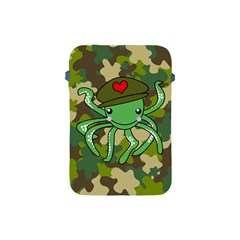 Octopus Army Ocean Marine Sea Apple Ipad Mini Protective Soft Cases by Nexatart