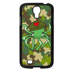 Octopus Army Ocean Marine Sea Samsung Galaxy S4 I9500/ I9505 Case (black) by Nexatart