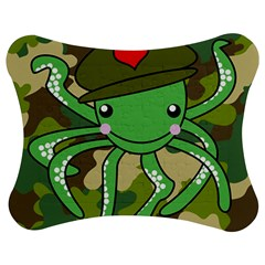 Octopus Army Ocean Marine Sea Jigsaw Puzzle Photo Stand (bow)