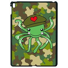 Octopus Army Ocean Marine Sea Apple Ipad Pro 9 7   Black Seamless Case by Nexatart
