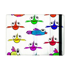 Fish Swim Cartoon Funny Cute Ipad Mini 2 Flip Cases