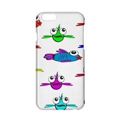 Fish Swim Cartoon Funny Cute Apple Iphone 6/6s Hardshell Case by Nexatart