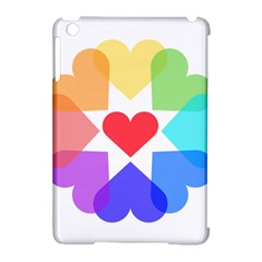 Heart Love Romance Romantic Apple Ipad Mini Hardshell Case (compatible With Smart Cover)