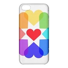 Heart Love Romance Romantic Apple Iphone 5c Hardshell Case