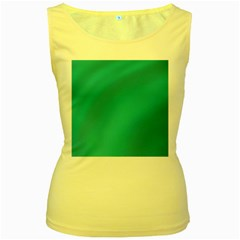 Background Image Background Colorful Women s Yellow Tank Top