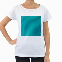 Background Image Background Colorful Women s Loose Fit T Shirt (white)