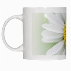 Art Daisy Flower Art Flower Deco White Mugs by Nexatart
