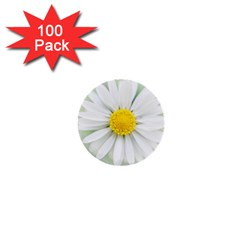 Art Daisy Flower Art Flower Deco 1  Mini Buttons (100 Pack)