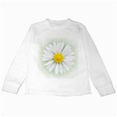 Art Daisy Flower Art Flower Deco Kids Long Sleeve T Shirts