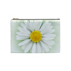 Art Daisy Flower Art Flower Deco Cosmetic Bag (medium)  by Nexatart