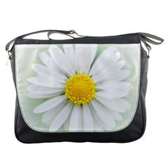 Art Daisy Flower Art Flower Deco Messenger Bags by Nexatart