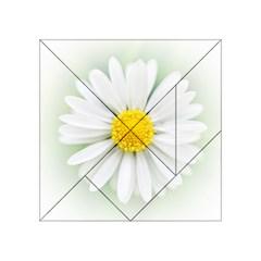 Art Daisy Flower Art Flower Deco Acrylic Tangram Puzzle (4  X 4 )