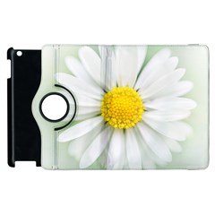 Art Daisy Flower Art Flower Deco Apple Ipad 3/4 Flip 360 Case by Nexatart