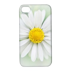 Art Daisy Flower Art Flower Deco Apple Iphone 4/4s Hardshell Case With Stand