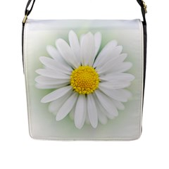 Art Daisy Flower Art Flower Deco Flap Messenger Bag (l)