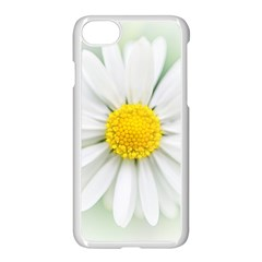 Art Daisy Flower Art Flower Deco Apple Iphone 7 Seamless Case (white)