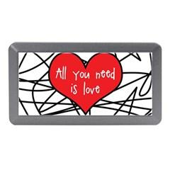 Love Abstract Heart Romance Shape Memory Card Reader (mini)
