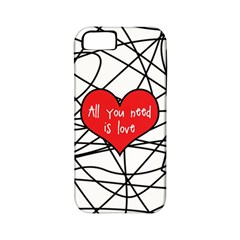 Love Abstract Heart Romance Shape Apple Iphone 5 Classic Hardshell Case (pc+silicone)