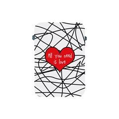 Love Abstract Heart Romance Shape Apple Ipad Mini Protective Soft Cases