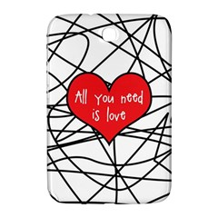 Love Abstract Heart Romance Shape Samsung Galaxy Note 8 0 N5100 Hardshell Case
