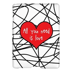 Love Abstract Heart Romance Shape Samsung Galaxy Tab S (10 5 ) Hardshell Case  by Nexatart